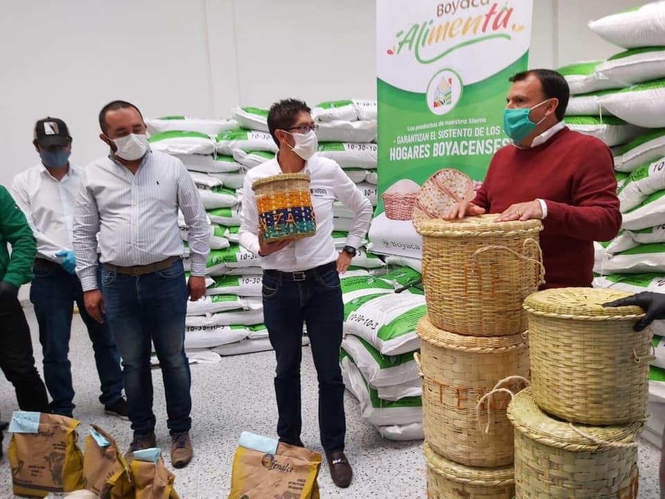 Boyacá, ejemplo nacional con estrategia que busca proteger la soberanía alimentaria del país